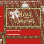 Animated Christmas Plaid