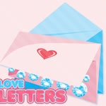 Pink Love Letters